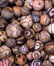 pottery marbles